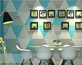 Jaamso Royals Wallpaper  PVC Vinyl  Self-adhesive  Peel and Stick  Eco-Friendly  Wallsticker (500x45CM, Multicolor)