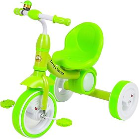 Tiffy & Toffee  Dancing Light Tri-Cycle , Music with Light on Wheels (Green) 1-4 Years
