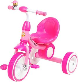 Tiffy & Toffee  Dancing Light Tri-Cycle , Music with Light on Wheels (Pink) 1-4 Years