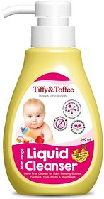 Tiffy & Toffee Food Grade Baby Liquid Cleanser for Feeding Bottles, Accessories, Fruits & Vegetables  500 mL 0-4 Years