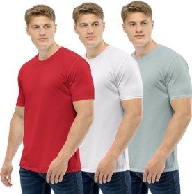 Clothinkhub Round Neck T-Shirt For Men (Pack Of 3)