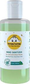 Tiffy & Toffee Hygiene Sanitizer gel (Alcohol free) - Tulsi 100 ml