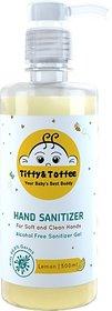 Tiffy & Toffee Hygiene Sanitizer gel (Alcohol Free) - Lemon 500 ml