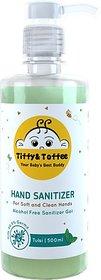 Tiffy & Toffee Hygiene Sanitizer gel (Alcohol Free) - Tulsi 500 ml