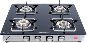 AUTOFLASH  CRYSTAL SAFARI 4 BURNER AUTO - IGNITION WITH 4 HIGH EFFICENCY BRASS BURNERS