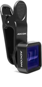 Adcom Anamorphic Mobile Phone Camera Lens - Compatible with All iPhone  Android Smartphones (Black)