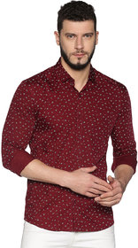 UrGear Mens Black Full Sleeve Cotton Casual Shirts