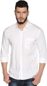 UrGear Mens Black Full Sleeve Cotton Formal Shirts