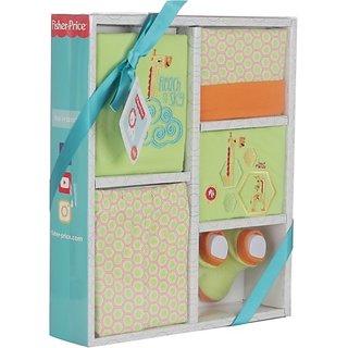 Fisher-Price Fisher Price Baby Gift Set Pack of 5 Green (Giraffe) (Green) 04 -18 months