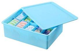 H'ENT 15 grid Plastic Organizer Box with Lid