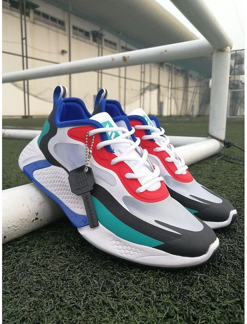 Buy Adidas 2020 Alphabounce Beyond Homme Blanche/Marine Bleu-Rouge ...