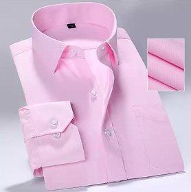 Man's Trends Plain Shirt For Man - Pink