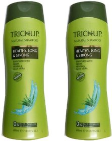 Trichup Natural Shampoo (400 ml) pack of 2
