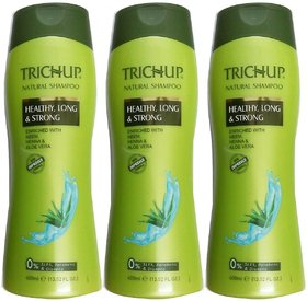 Trichup Natural Shampoo (400ml) pack of 3