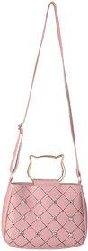 Pocket Signechar Sling bag Cross body Leather bag for Girls