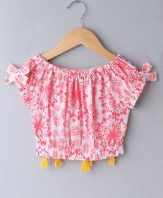 Soul Fairy Pink Cotton Crop Top
