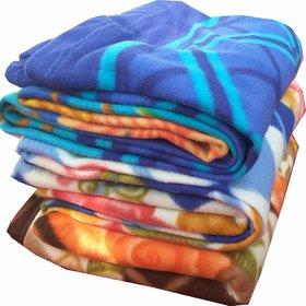 Comfytouch Double Printed Fleece Blanket Pack of 3