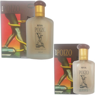 Riya poizo perfume(100 ml) (Pcs 1 )+ riya poizo perfume (30 ml) (Pcs 1)