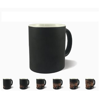 Magic Cup Ceramic personalized/customized gifts Digital Printing Coffee Mug with Photo and Quotes Birthday/Love/ Friend