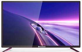 Destine 102 cm (40 Inches) Full HD LED Smart TV DS-SM-40S (Black) (2021 Model)
