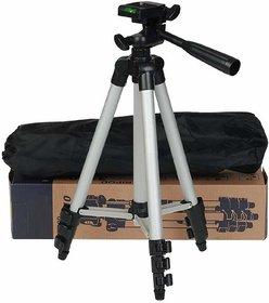 AVMART 3110 Portable Foldable Camera Tripod with Mobile Clip Holder Bracket(ATRIPOD311001A)