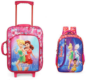 Disney Kids Travel Bag  with attractive Cars print ,1 main compartment, 1 front pocket, Both side handle (BNB-5)
