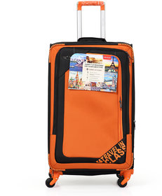 Polo Class Trolley Bag, 360 Roatating Wheels  number lock facility with Smart Securitec zipper (LT-1144)