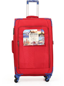 Polo Class Trolley Bag,  360 Roatating Wheels  number lock facility with Smart Securitec zipper (LT-1145)