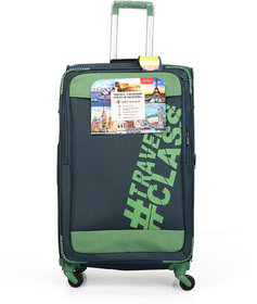 Polo Class Trolley Bag, 360 Roatating Wheels  number lock facility with Smart Securitec zipper (LT-1147)