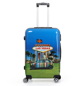 Polo Class Trolley Bag, 360 Roatating Wheels  number lock facility with Smart Securitec zipper (LT-1078)