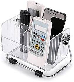 AVMART 4 Compartments Acrylic, Steel Remote  (Clear)(REMOTECONTROLHNSTK2020V)
