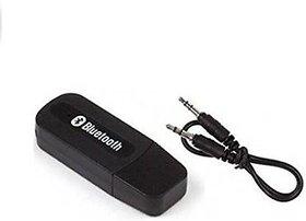 AVMART Bluetooth Stereo Adapter Audio Receiver 3.5Mm Music Wireless Hifi Dongle (SFACARBWIREBLACK)