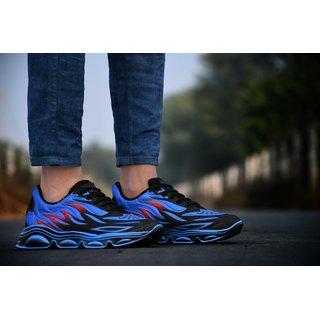 Brawo Men's Blue Casual Sneaker Shoe