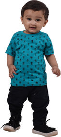 T-Shirt For Kid boy , Clothes for Summer , Blue T-Shirt For Kid boy