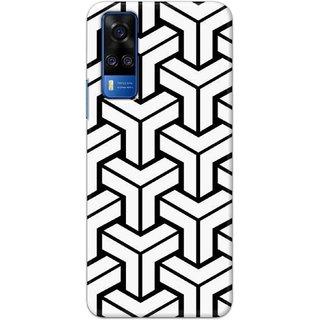 Digimate Latest Design High Quality Printed Designer Soft TPU Back Case Cover For Vivo Y51a
