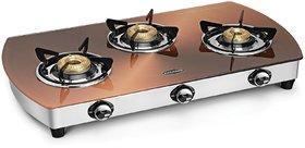 Padmini 3 Burner Glass Cooktop CS 3GT Kopper Auto Ignition