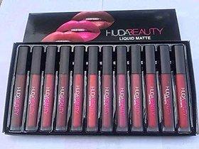 huda beauty liquid matte lipstick set of 12