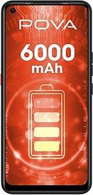 Tecno Pova (Dazzle Black, 128 GB)  (6 GB Ram)
