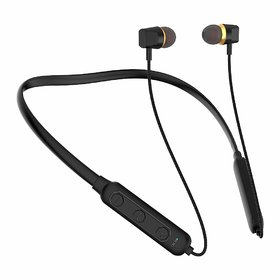 Uinb-3987 In the Ear Bluetooth Wireless Neckband Headset (Black)