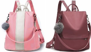 Latest New Pompom Style Pu Leather Trendy Backpack Used For Women  Girls Backpack School Bag Student Backpack Women Tra