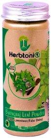 HerbtoniQ 100 Natural Bhringraj Leaf Powder (Eclipta Prostrate/false Daisy) For Hair Fall, Dandruff, Hair Care Regimen