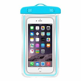 Kord Store Waterproof Underwater Pouch Bag Cover for Mobile Phone (Multicolor)
