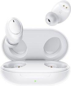 OPPO Enco W11 Bluetooth Headset(White, True Wireless)
