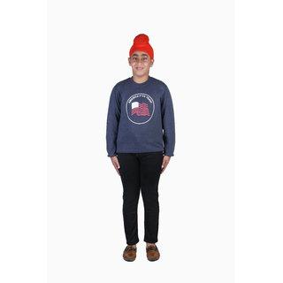 Sweatshirt for Kids Boy, Winter Baby Cloths,  Blue  Sweatshirt For Kid Boy