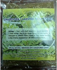 Laxmitaru, simarouba glauca, paradise tree, leaves  stem tea powder (2 weeks) art of living, Dr joshi bangalore, cancer