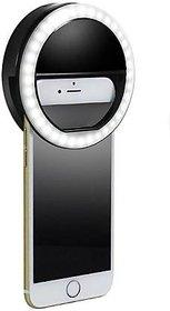 IQ TECH  LED Selfie Ring Light 36 LED 3 Level Brightness Selfie Ring Light for Low Light