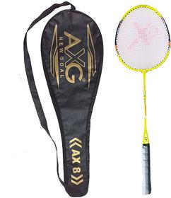 AXG NEW GOAL Relentless Badminton Racquet Green Strung Badminton Racquet