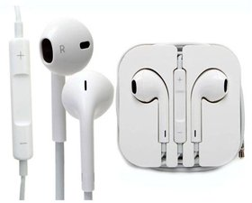 Premium Quality Earphone for Iphone X/ Xs (White, In the ear)