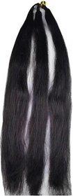 1 Braiding Hair  Hair Extension Hair Prandi black 20 inches
