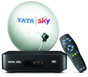 TATA SKY HD CONNECITON + 6 MONTH HINDI BASIC HD PACKAGE + FREE INSTLALATION + DELIVERY